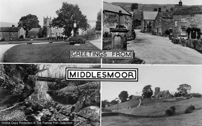 Photo of Middlesmoor, Composite c.1955