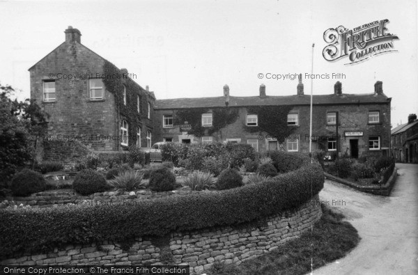 Photo of Middlesmoor, Crown Hotel And Post Office c.1955