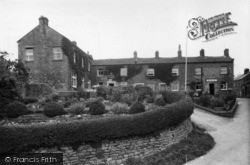 Crown Hotel And Post Office c.1955, Middlesmoor