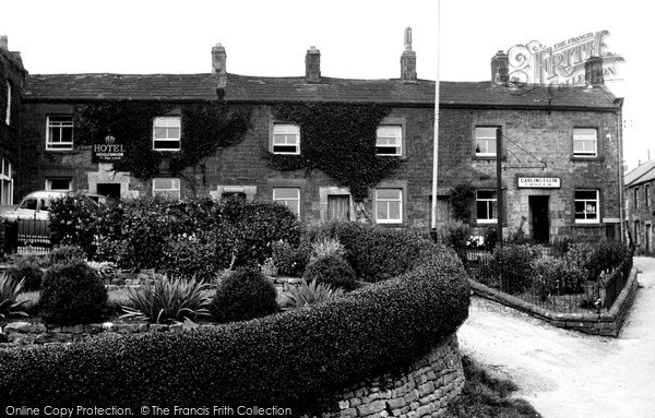 Photo of Middlesmoor, Crown Hotel And Shop c.1955