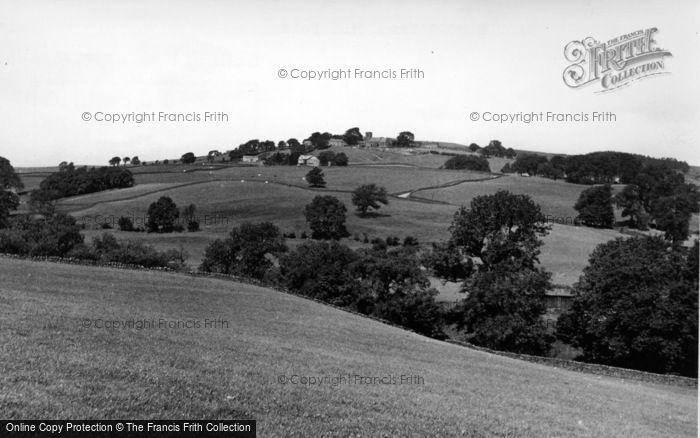 Photo of Middlesmoor, From Stud Fold c.1955