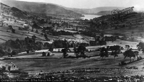 Photo of Middlesmoor, Nidderdale c.1935