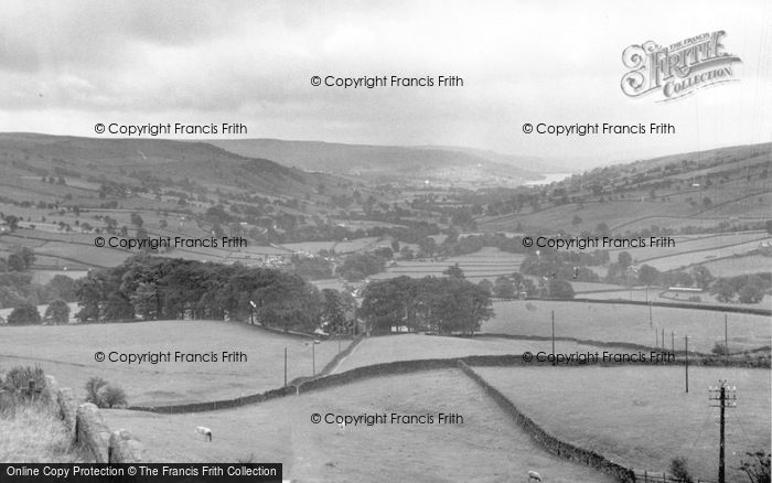 Photo of Middlesmoor, Nidderdale From The Church c.1955