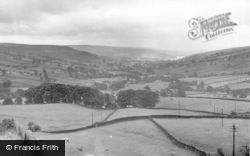 Nidderdale From The Church c.1955, Middlesmoor
