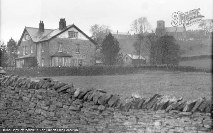 Photo of Middlesmoor, St Chad's Church And Vicarage c.1932