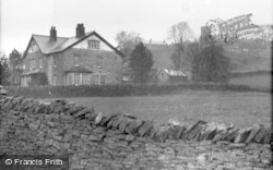 St Chad's Church And Vicarage c.1932, Middlesmoor
