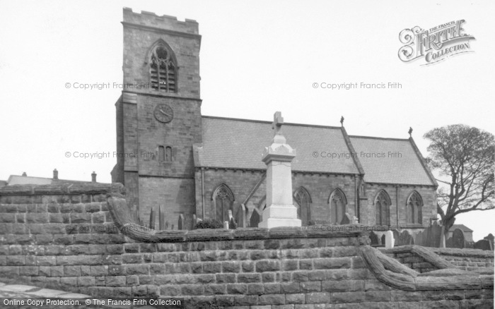 Photo of Middlesmoor, St Chad's Church c.1932
