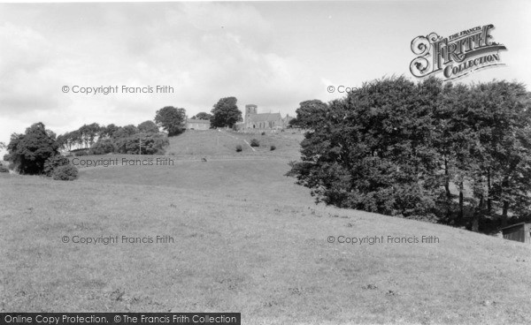 Photo of Middlesmoor, The Church 1969
