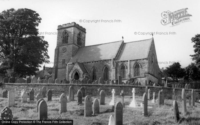 Photo of Middlesmoor, The Church c.1955