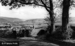 View From The Church c.1960, Middlesmoor