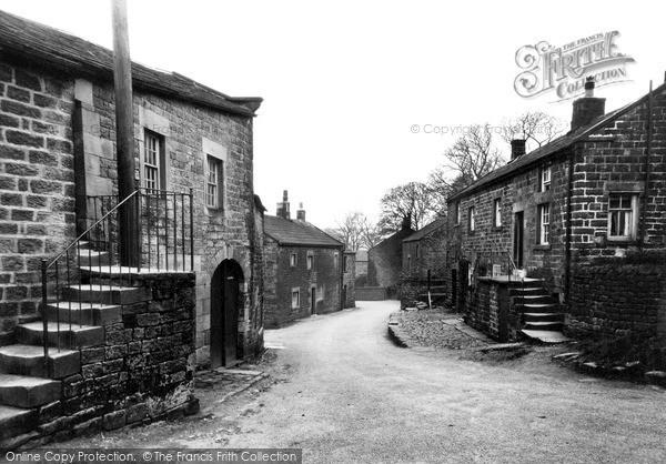 Photo of Middlesmoor, Village Street c.1935