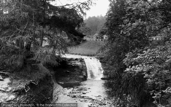 Photo of Middleton-In-Teesdale, Horseshoe Falls c1955, ref. m136027