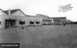 Middleton-on-Sea, Southdean Holiday Centre, Bowling Green c.1965