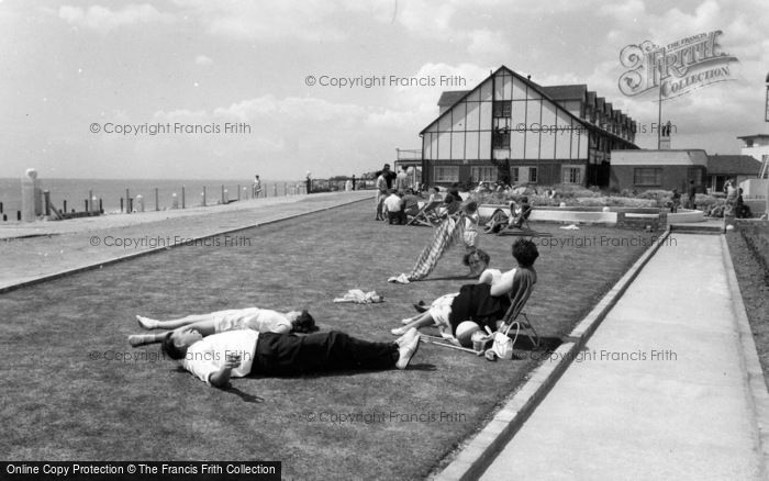Photo of Middleton On Sea, Southdean Holiday Centre, Lawns c.1960