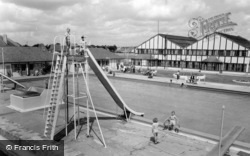 Middleton-on-Sea, Southdean Holiday Centre Swimming Pool c.1960