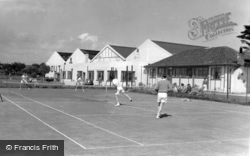 Middleton-on-Sea, Southdean Holiday Centre Tennis Courts c.1960
