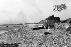 Middleton-on-Sea, The Beach c.1960