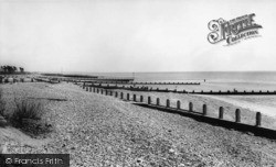 Middleton-on-Sea, The Beach c.1965
