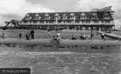 Middleton-on-Sea, The Beach, Southdean Holiday Centre c.1960
