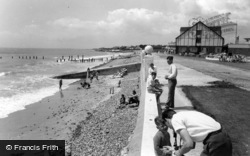 Middleton-on-Sea, The Promenade, Southdean Holiday Centre c.1960