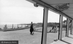 Middleton-on-Sea, View From The Terrace, Southdean Holiday Centre c.1960