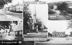 Middleton St George, Composite c.1960