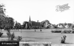 Middleton St George, St Laurence's Church c.1960