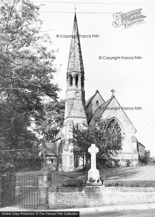 Photo of Middleton St George, St Laurence's Church c.1960