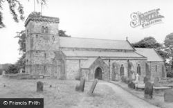 Middleton Tyas, The Church c.1954