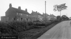 Middleton Tyas, The Council Houses c.1955