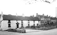 Middleton Tyas, the Shoulder of Mutton and Post Office c1955