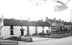 Middleton Tyas, The Shoulder Of Mutton And Post Office c.1955