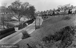 Middlewich, Nantwich Road c.1950