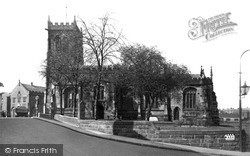 Middlewich, St Michael's Church c.1950