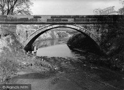Middlewich, The Bridge c.1950
