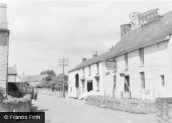Middlezoy, George Inn And Barn Stores c.1960