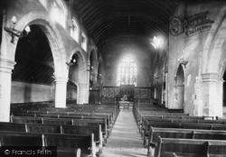 Midhurst, Church Of St Mary Magdalene And St Denys Interior 1898