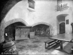 Midhurst, Cowdray Castle Ruins, The Kitchen 1938