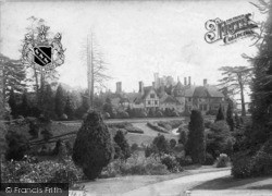 Midhurst, Cowdray House 1898