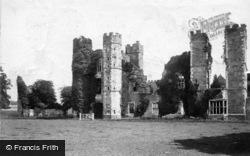 Midhurst, Cowdray Ruins 1898