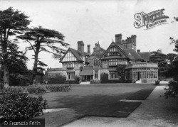 Midhurst, Cowdray West Front 1913
