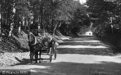 Midhurst, Horse And Carriage 1907