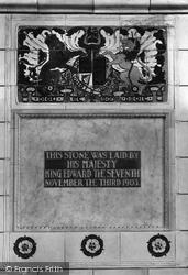 Midhurst, King Edward's Sanatorium, Foundation Stone 1906