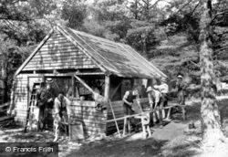 Midhurst, King Edward's Sanatorium, The Carpenters Shop 1907
