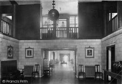 Midhurst, King Edward's Sanatorium, The Entrance Hall 1913