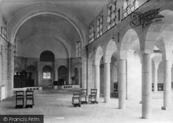 Midhurst, King Edward Vii Sanatorium Chapel Interior 1906