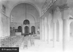 Midhurst, King Edward Vii Sanatorium Chapel Interior 1912