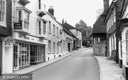 Midhurst, Knockhundred Row c.1965