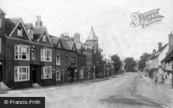 Midhurst, North Street 1898