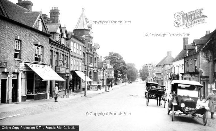 Photo of Midhurst, North Street 1921